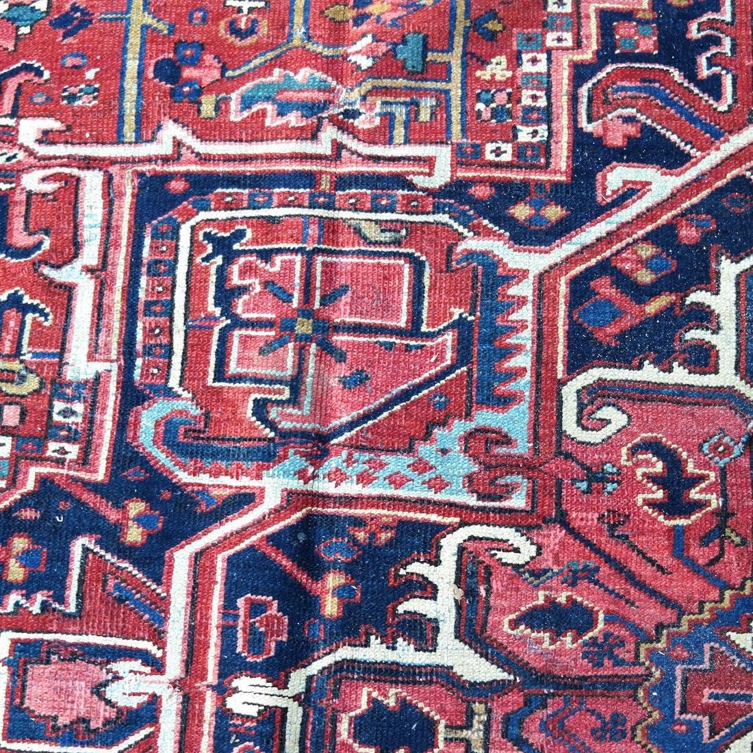 Antique Iranian Heriz Carpet, 9 x 12 - 5