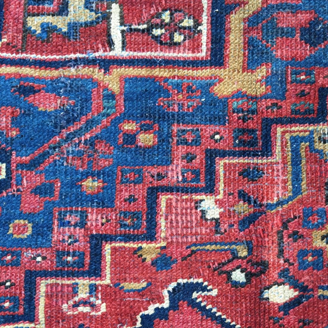 Antique Iranian Heriz Carpet, 9 x 12 - 6