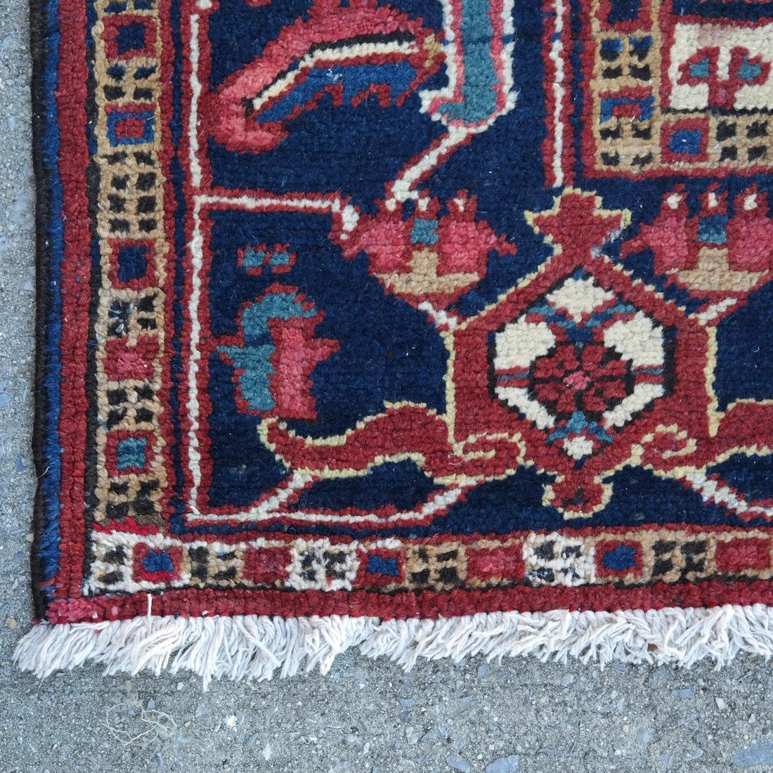 Antique Iranian Heriz Carpet, 9 x 12 - 7