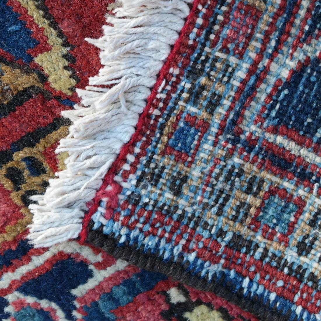 Antique Iranian Heriz Carpet, 9 x 12 - 8