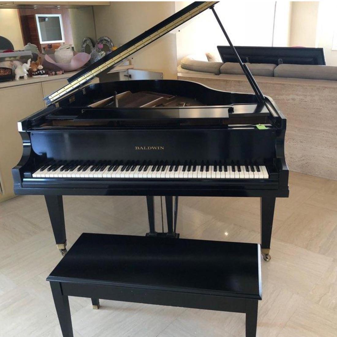 Baldwin Black Lacquer Grand Piano