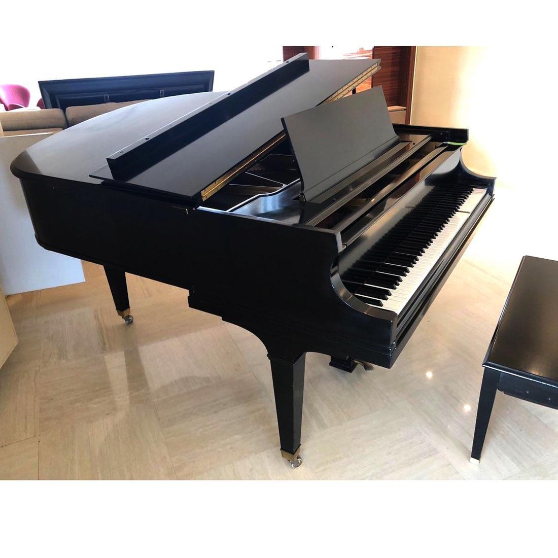 Baldwin Black Lacquer Grand Piano - 4
