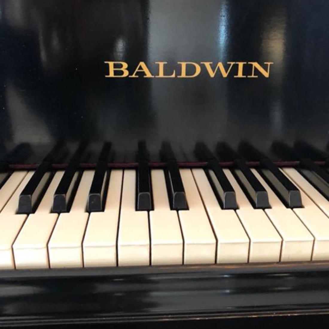 Baldwin Black Lacquer Grand Piano - 5