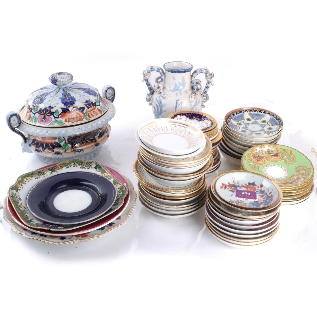 Assorted Porcelain Dessert/Dinnerware