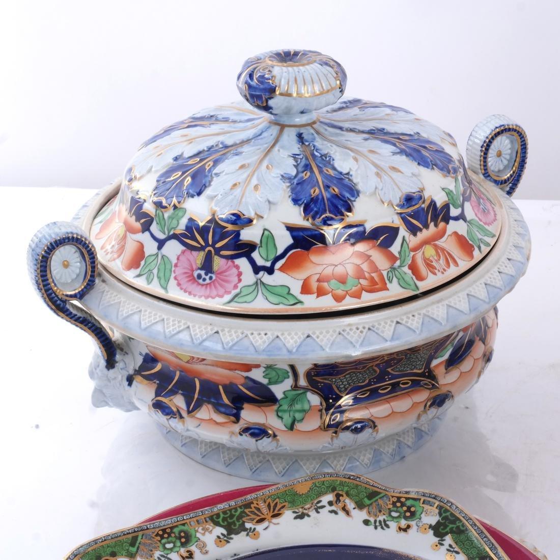 Assorted Porcelain Dessert/Dinnerware - 2