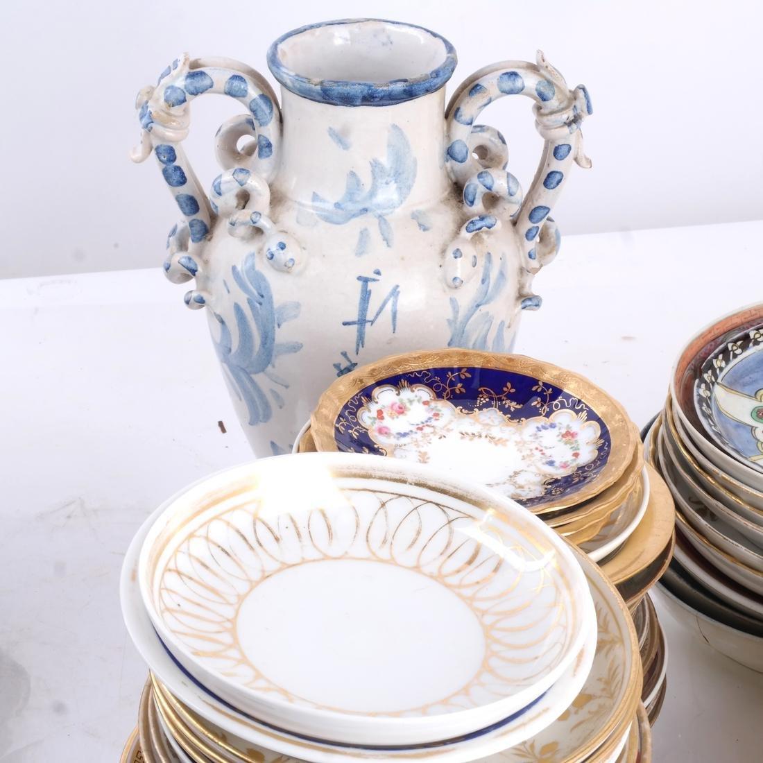 Assorted Porcelain Dessert/Dinnerware - 4