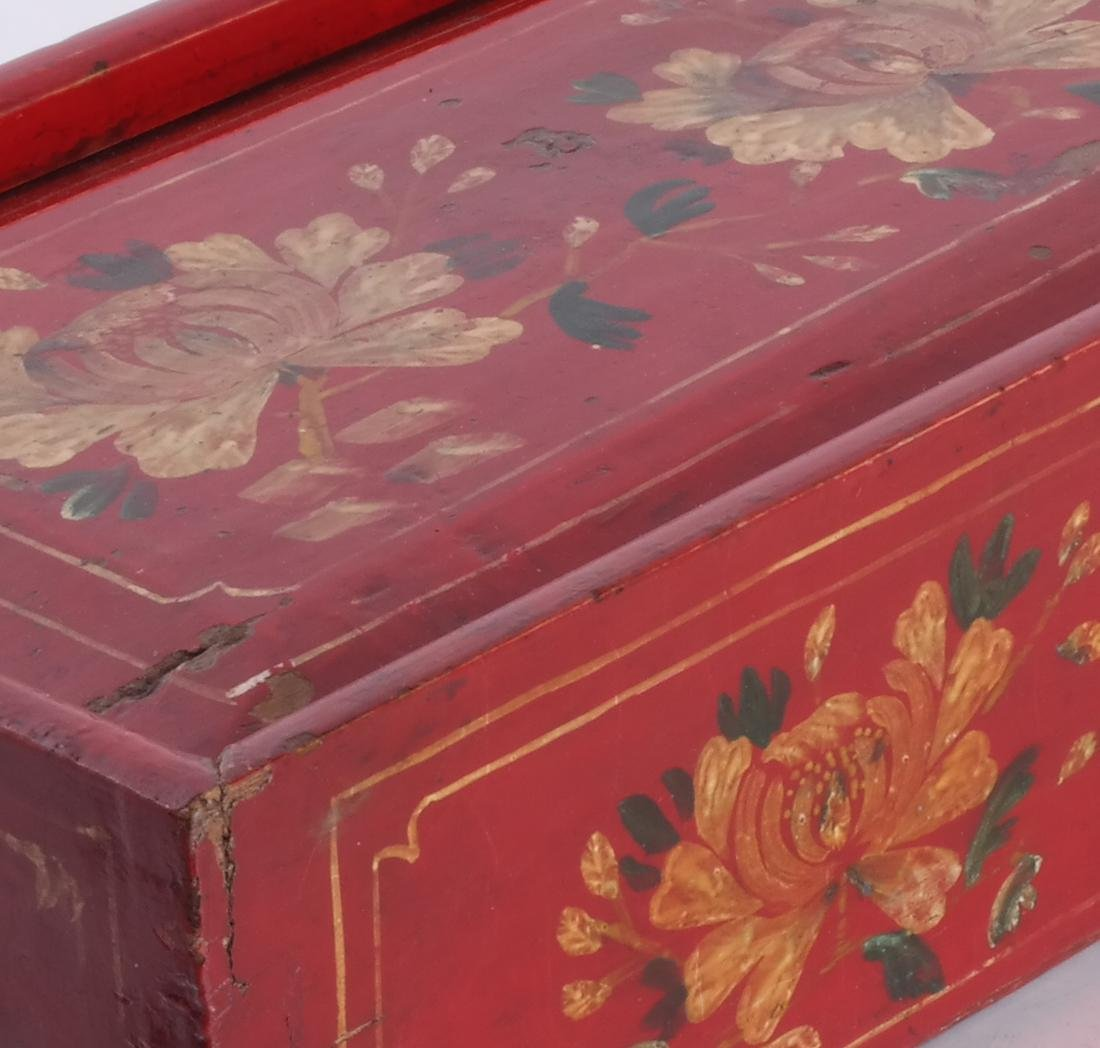 Red Floral Box & Dome Box - 4