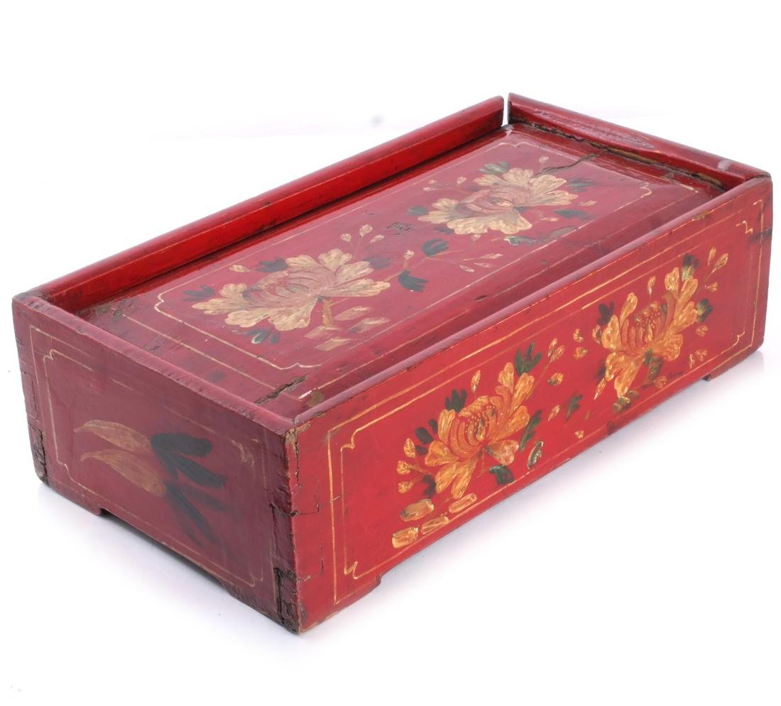 Red Floral Box & Dome Box - 5