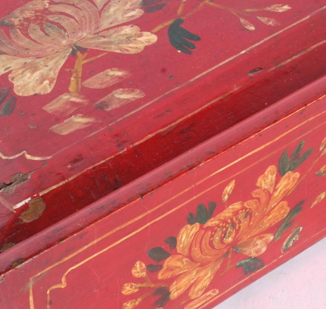 Red Floral Box & Dome Box - 6