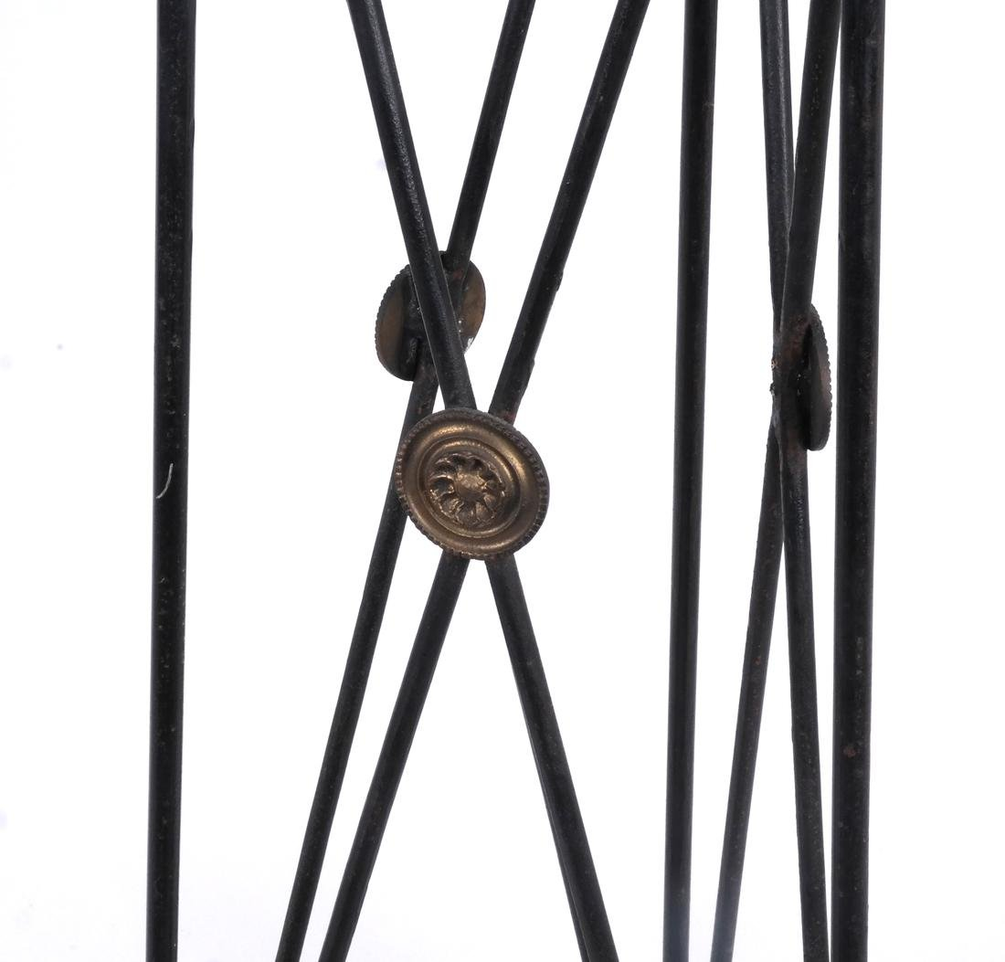 Classical Iron Arrow-Form Fern Stand - 3