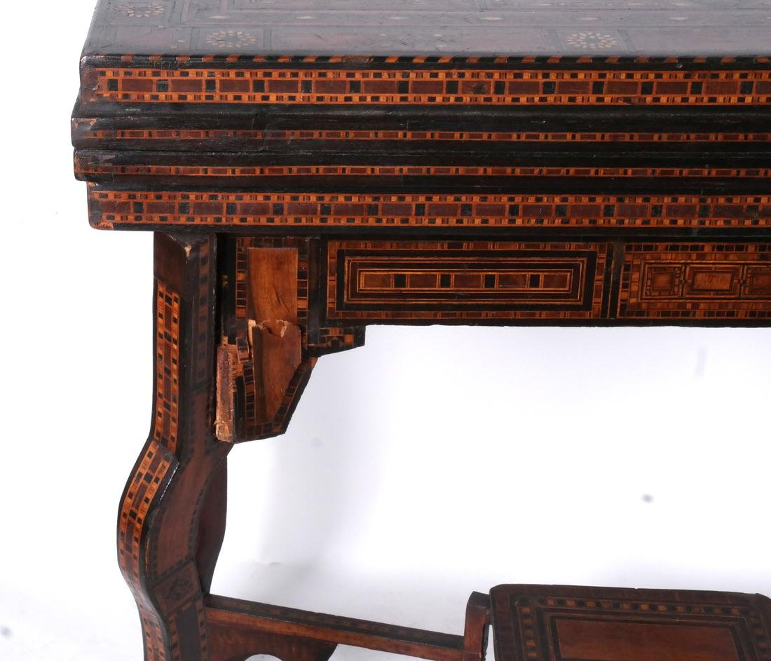 Antique Moroccan-Syrian Games Table - 4