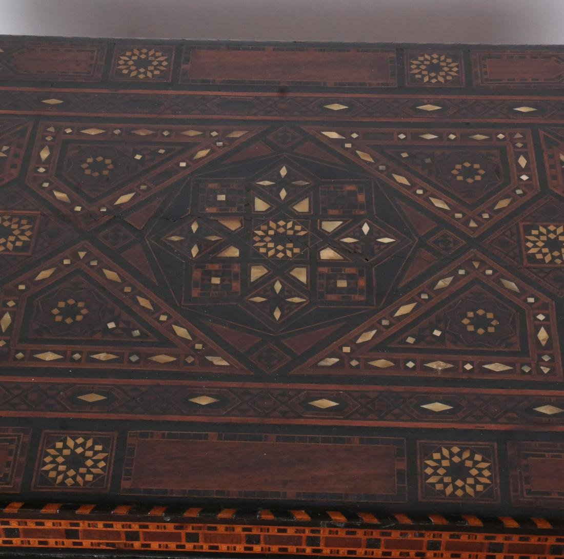 Antique Moroccan-Syrian Games Table - 5