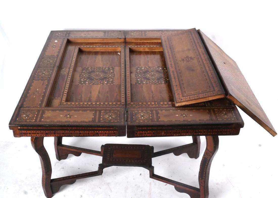 Antique Moroccan-Syrian Games Table - 8