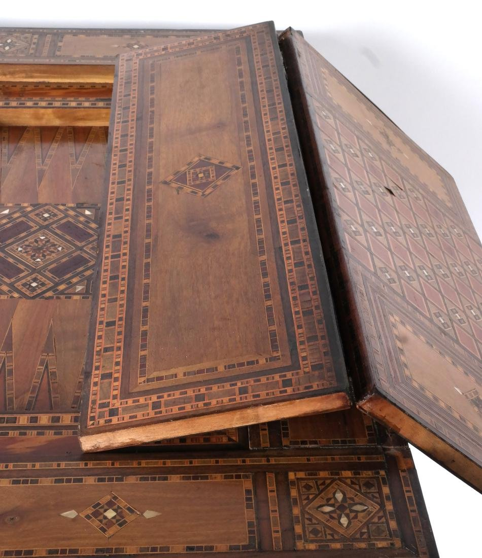 Antique Moroccan-Syrian Games Table - 9