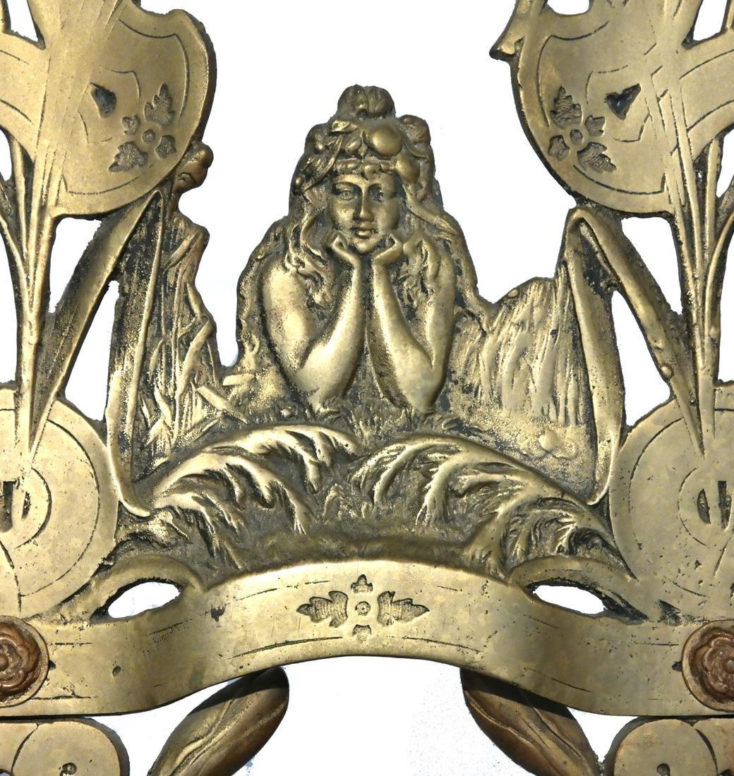 Art Nouveau Bronze Easel - 2