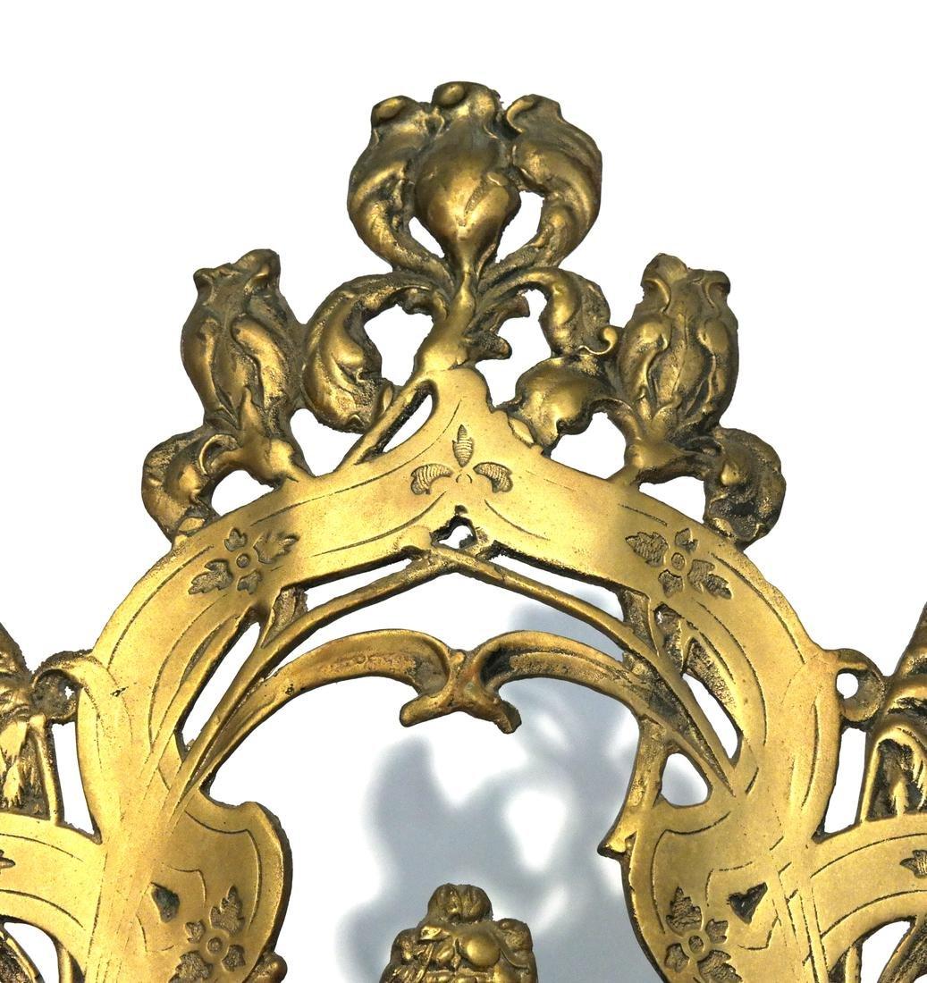 Art Nouveau Bronze Easel - 3