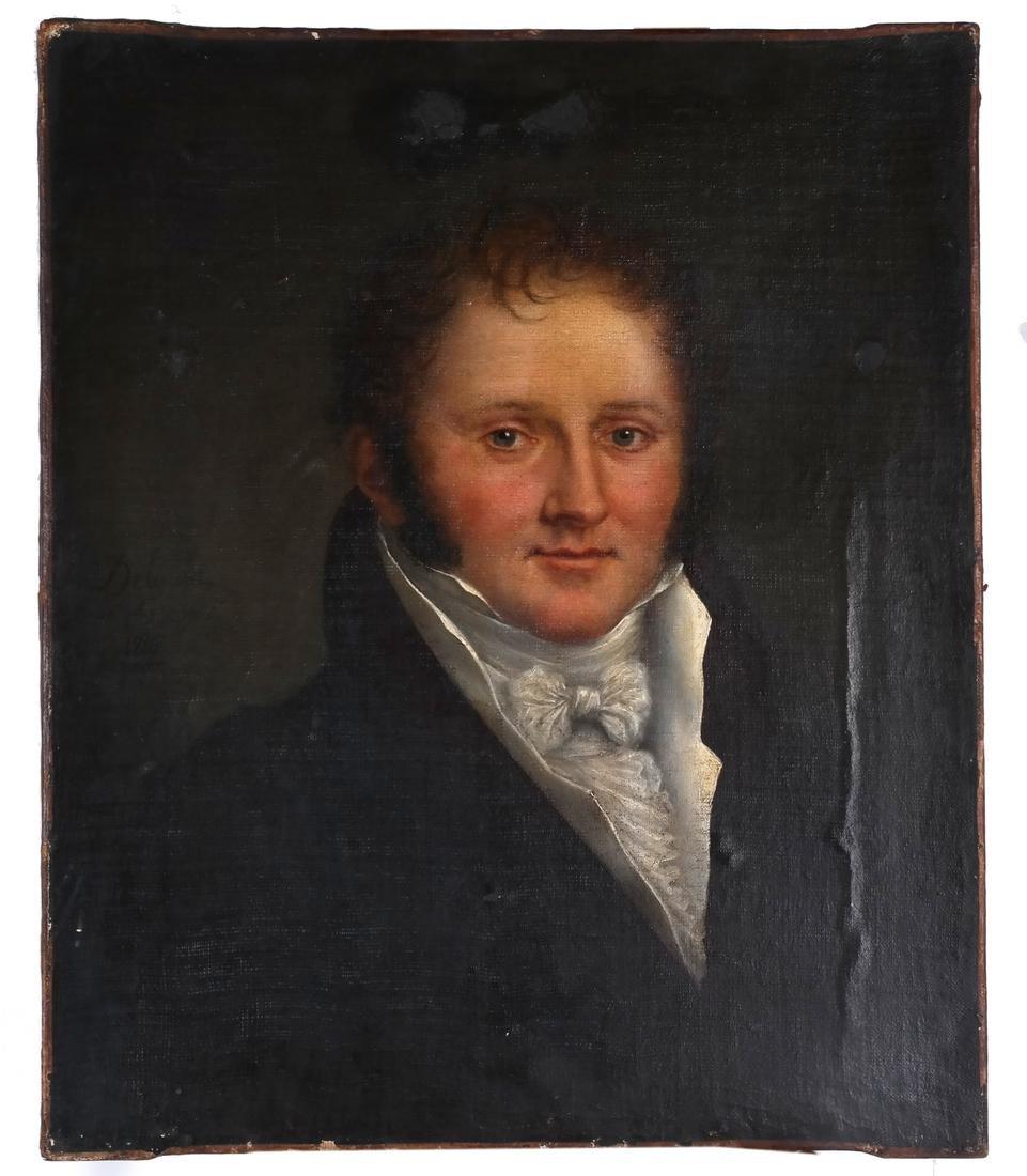 Manner of Pierre Claude: Francois Delorme Portrait