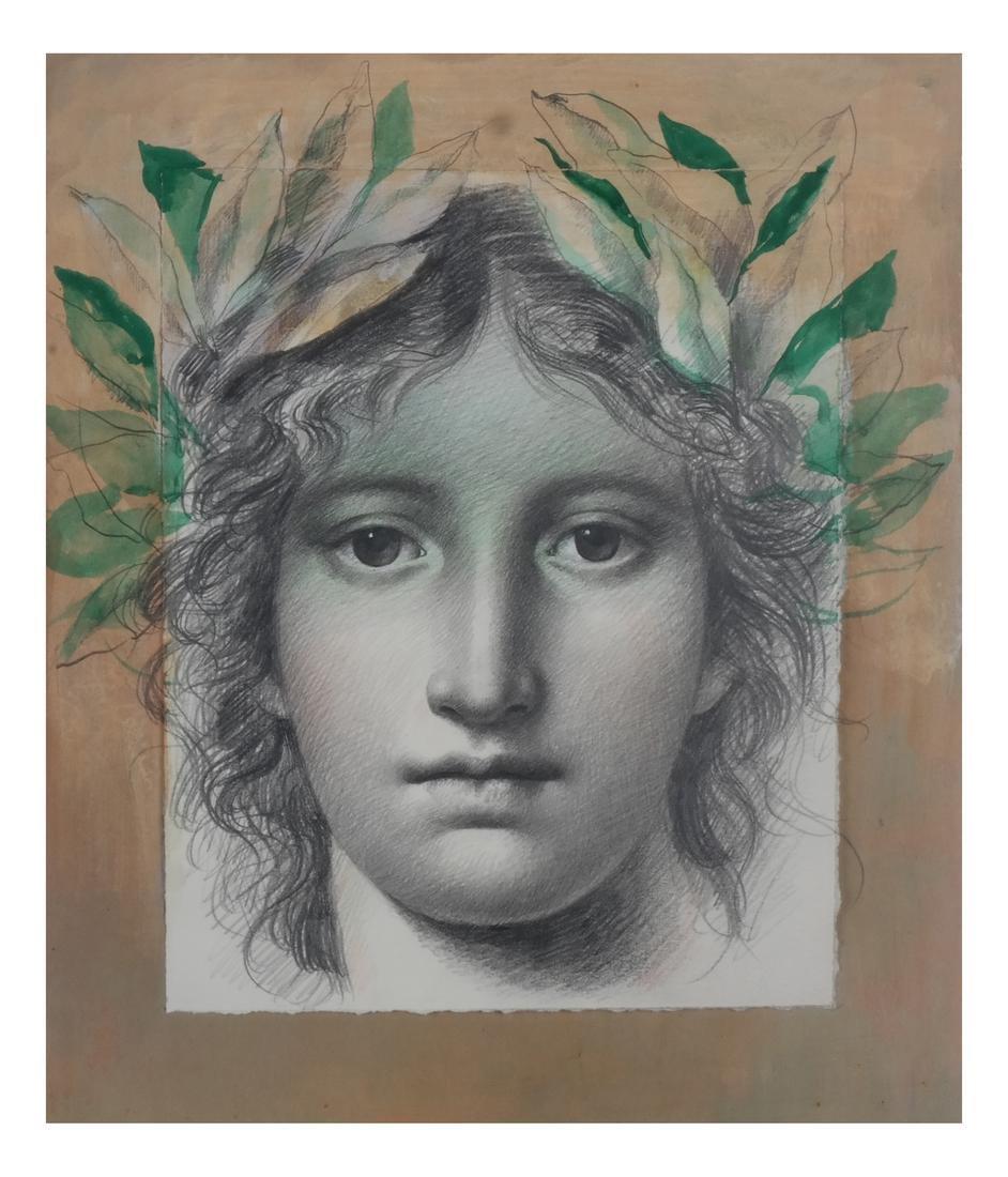 Carlo Maria Mariani: Allegorical Portrait