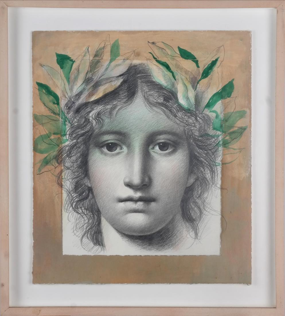 Carlo Maria Mariani: Allegorical Portrait - 2