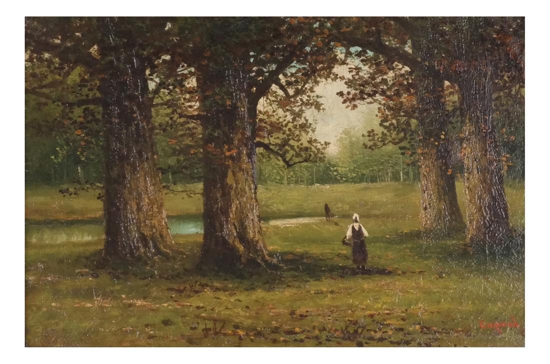 """Capoul: """"Croton Lake"""" - Landscape, O/C"""