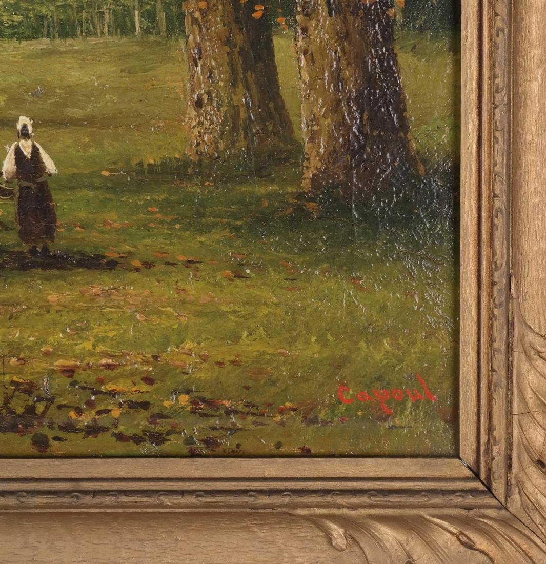"""Capoul: """"Croton Lake"""" - Landscape, O/C - 3"""