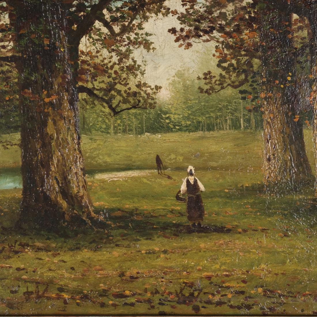 """Capoul: """"Croton Lake"""" - Landscape, O/C - 4"""