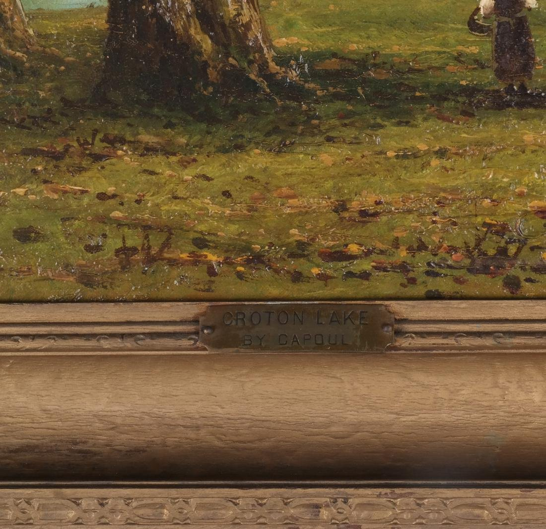 """Capoul: """"Croton Lake"""" - Landscape, O/C - 5"""