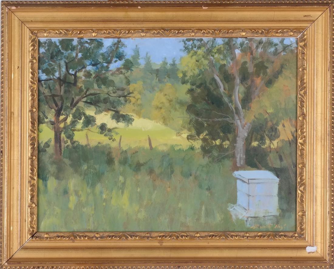 Edith Stewart Hoyt: Landscape - Oil - 2