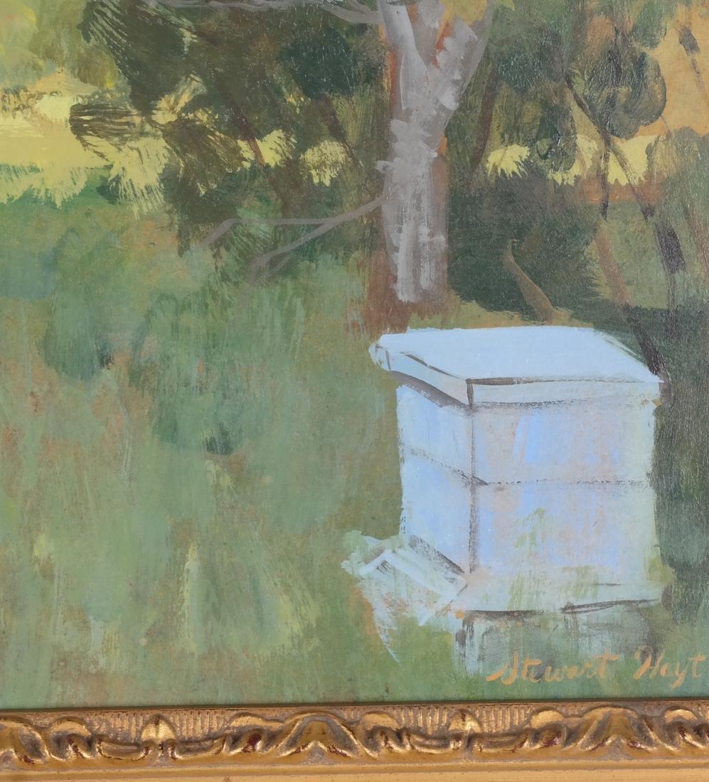 Edith Stewart Hoyt: Landscape - Oil - 3