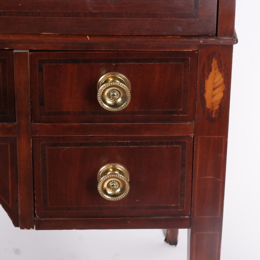American Cylinder Roll Secretary/Bookcase - 2