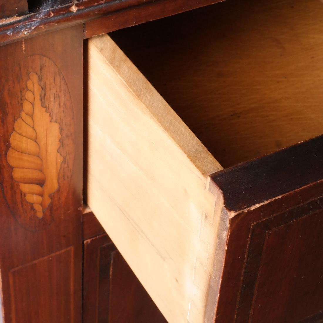 American Cylinder Roll Secretary/Bookcase - 6