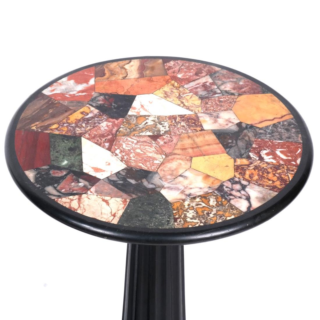 Pair of 19th C. Specimen Marble Tables - 2