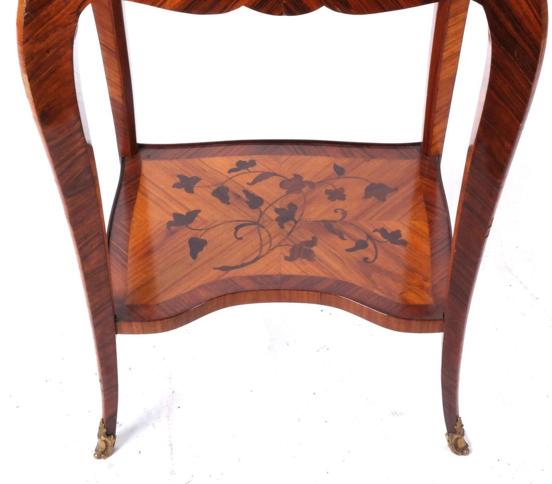 18th C. French Marquetry Table A Ecrire - 3