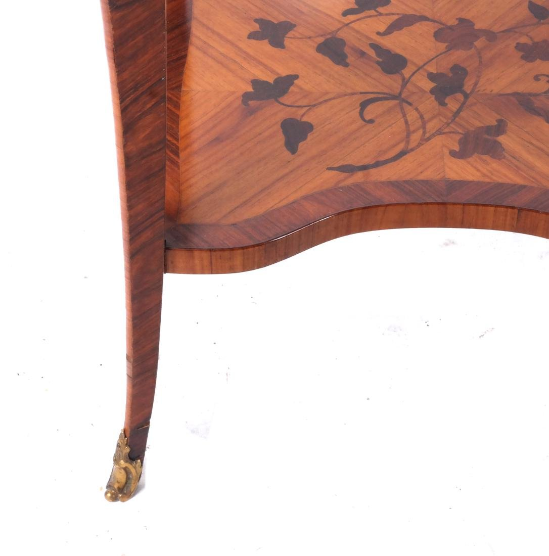 18th C. French Marquetry Table A Ecrire - 4