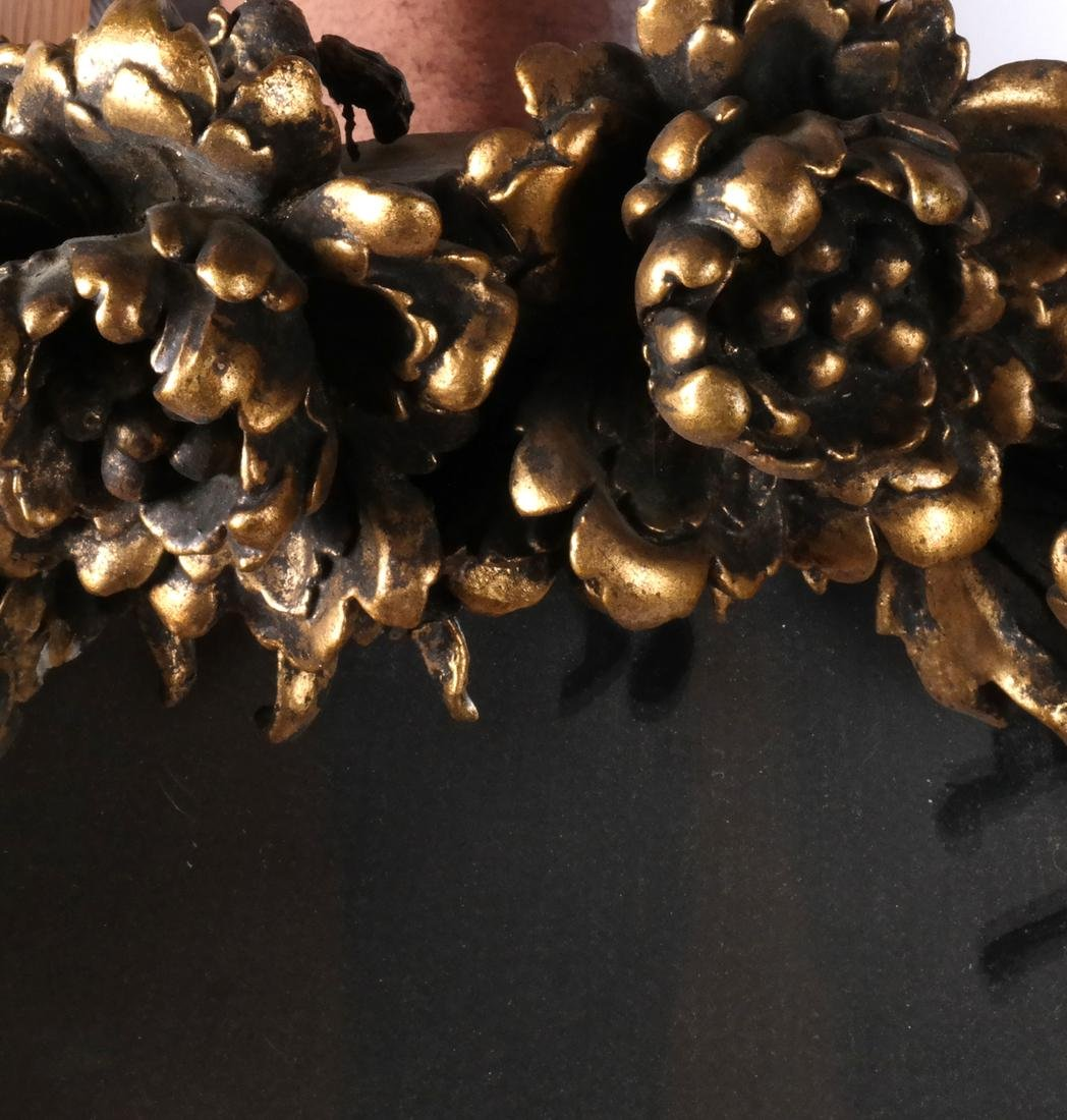 Ornate Cherub Wall Mirror - 4