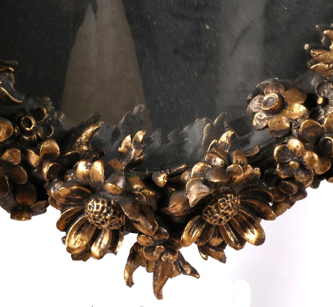 Ornate Cherub Wall Mirror - 6