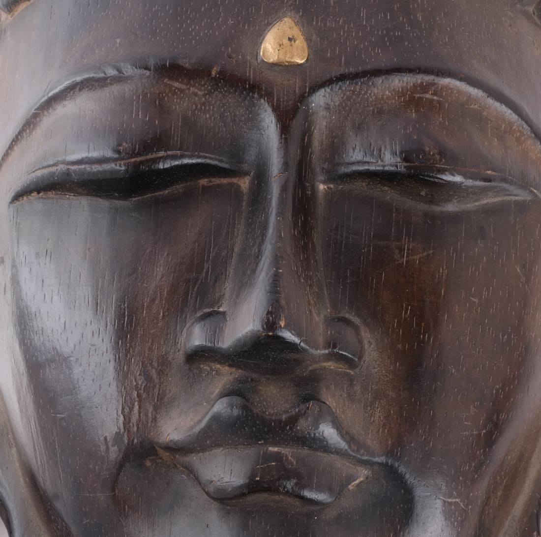 Indonesian Hand-Carved Mask - 2