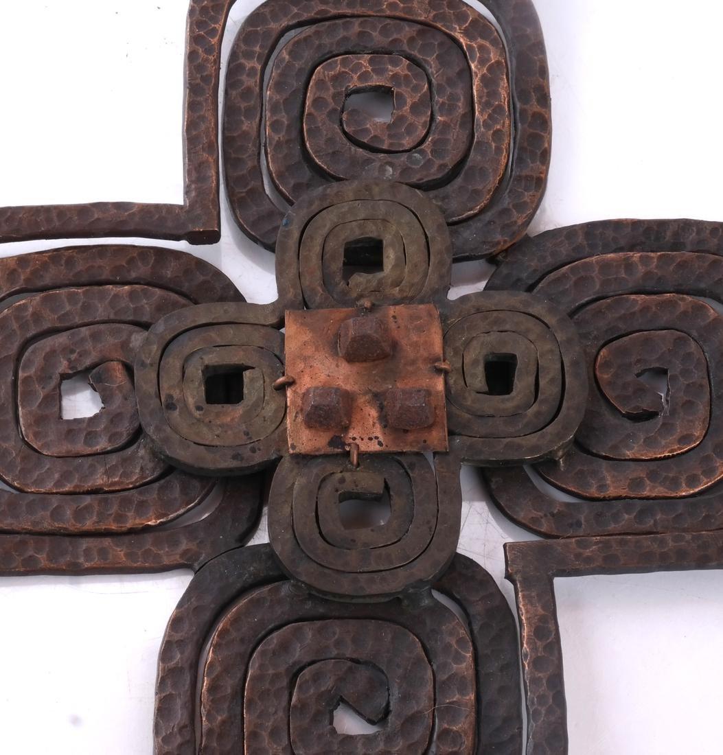Hand-Hammered Bronze Sculpture - 2
