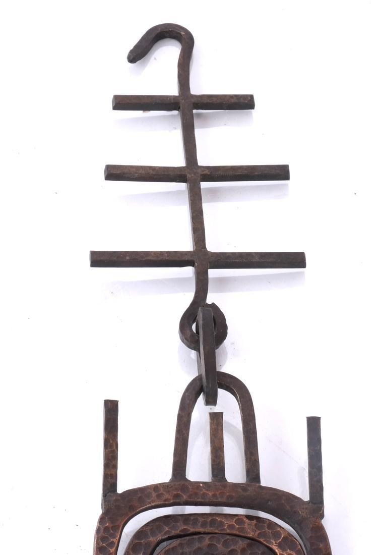 Hand-Hammered Bronze Sculpture - 4