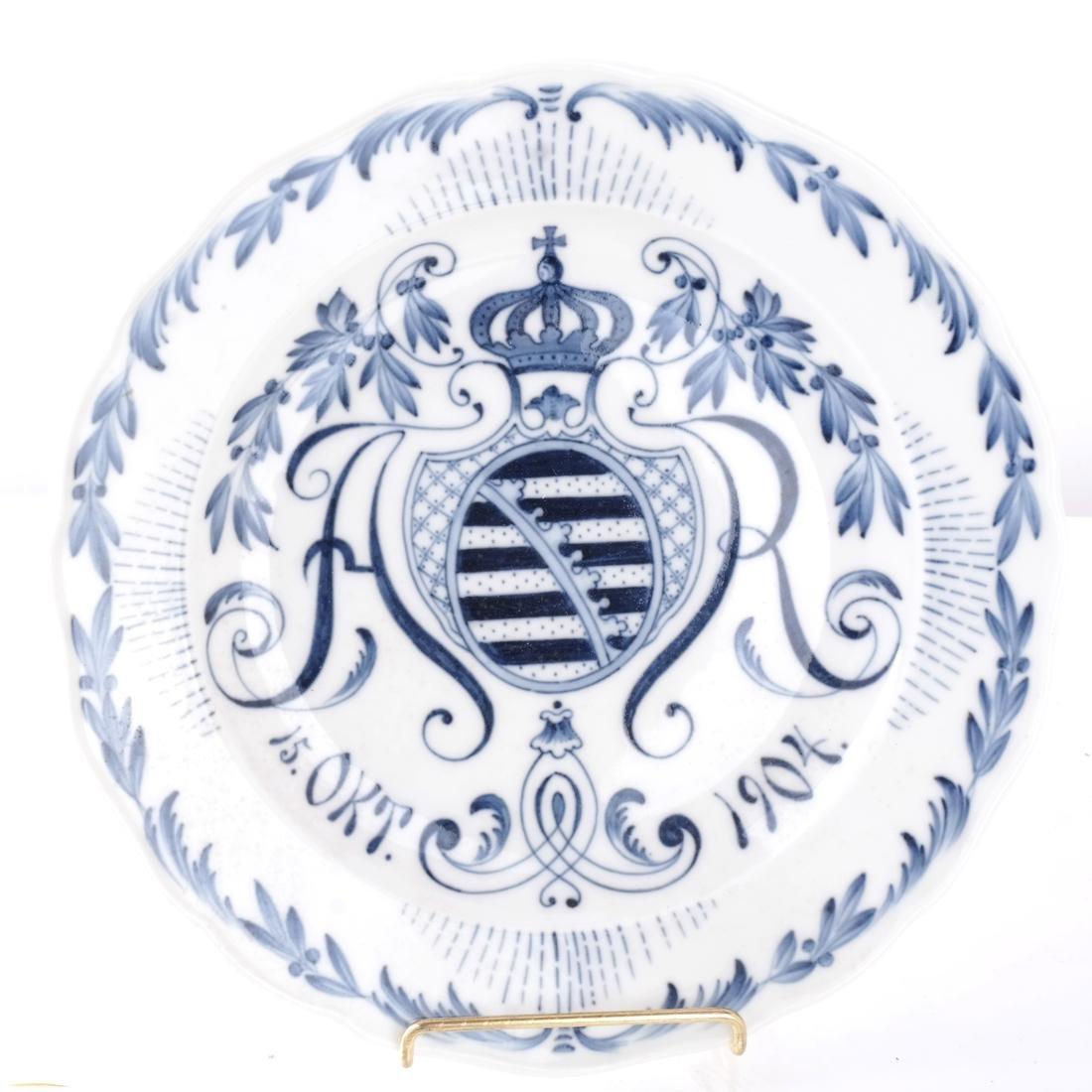 Meissen, Royal Doulton Cabinet Plates - 2