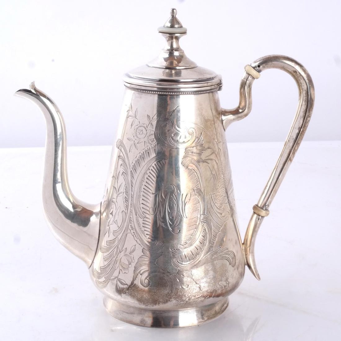 Russian Silver Teapot