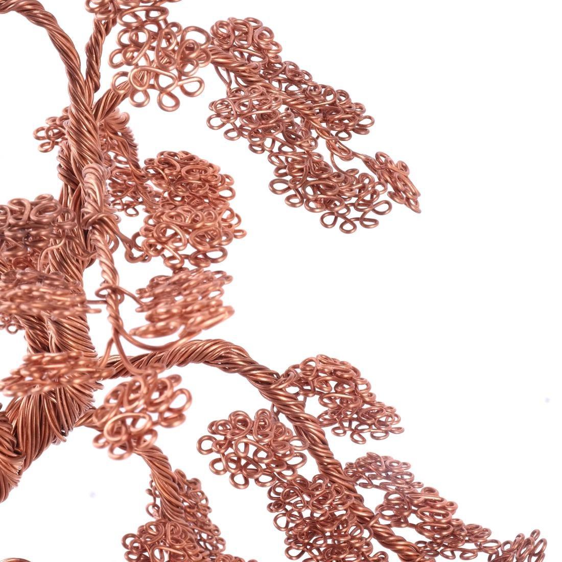 Hudson River Valley Outsider Art: Copper Tree - 2