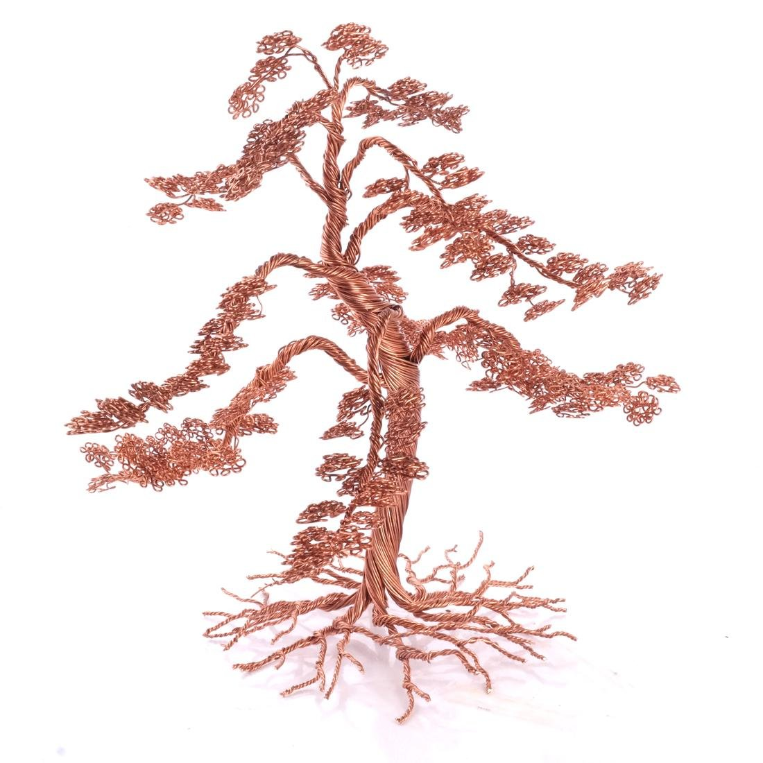 Hudson River Valley Outsider Art: Copper Tree - 4