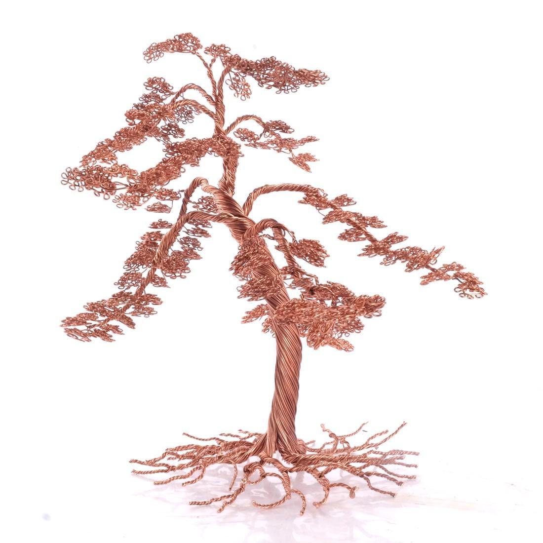 Hudson River Valley Outsider Art: Copper Tree - 5