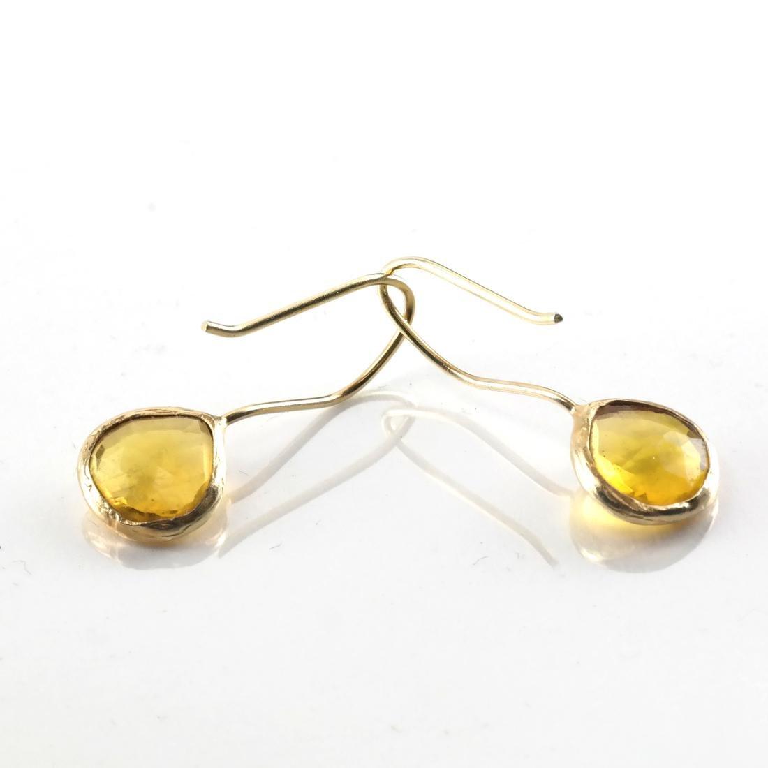 3-Piece 14k YG, Citrine Ring & Earrings - 2
