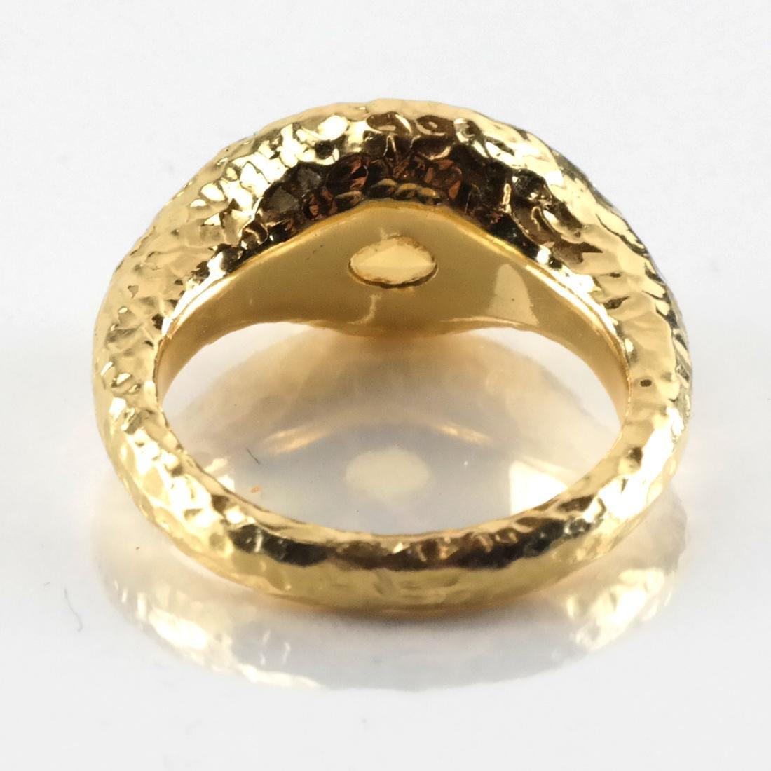 3-Piece 14k YG, Citrine Ring & Earrings - 4