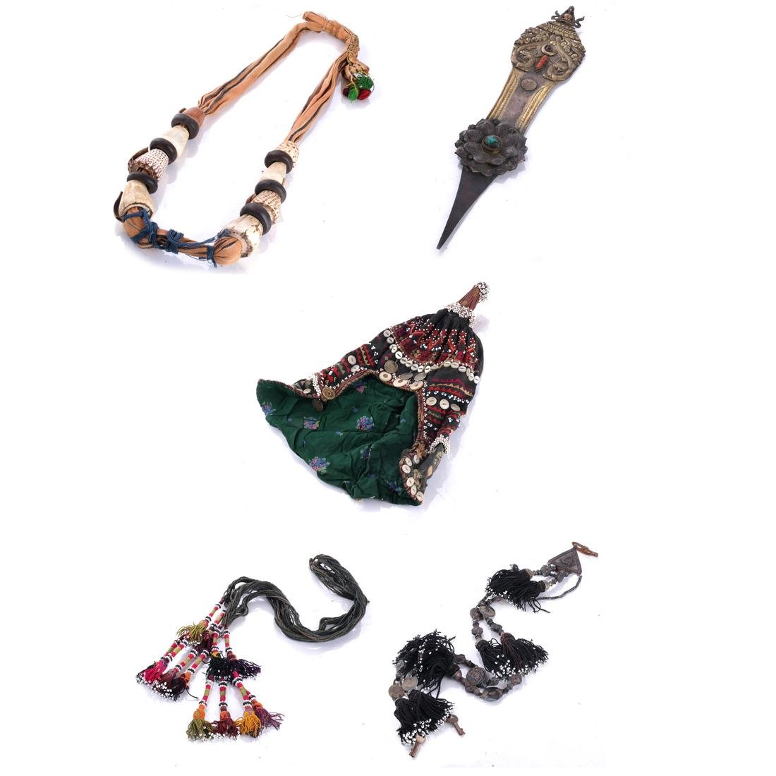 Asian, Tibetan Jewelry and Accessories
