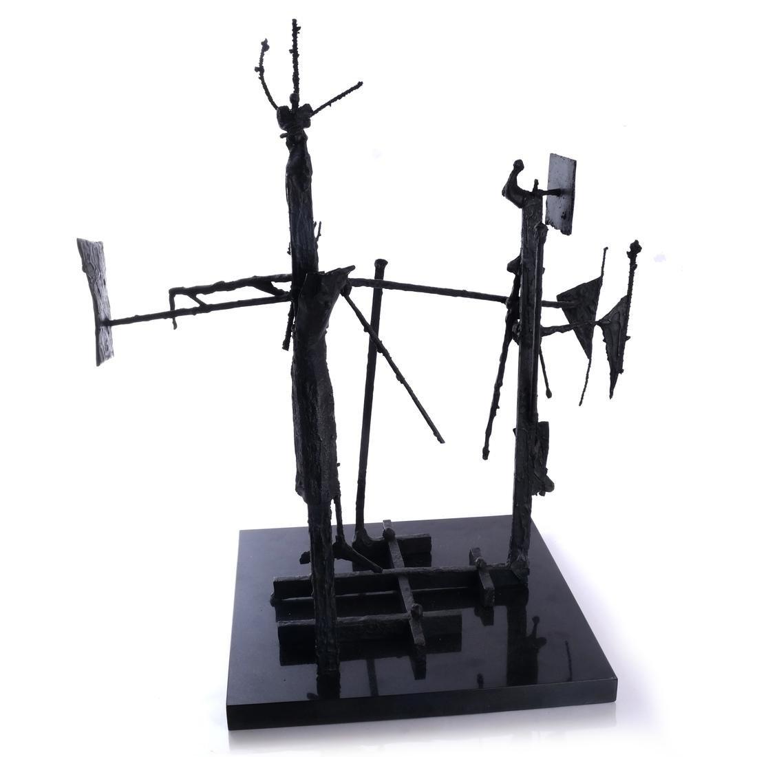 "Roberto Mata ""Crucifixion"", 1958 - 7"