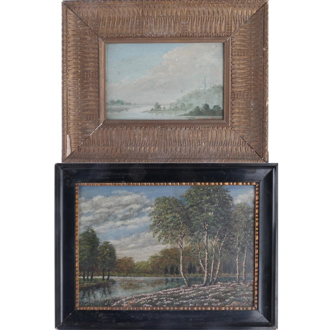 Two Landscape Oil Paintings