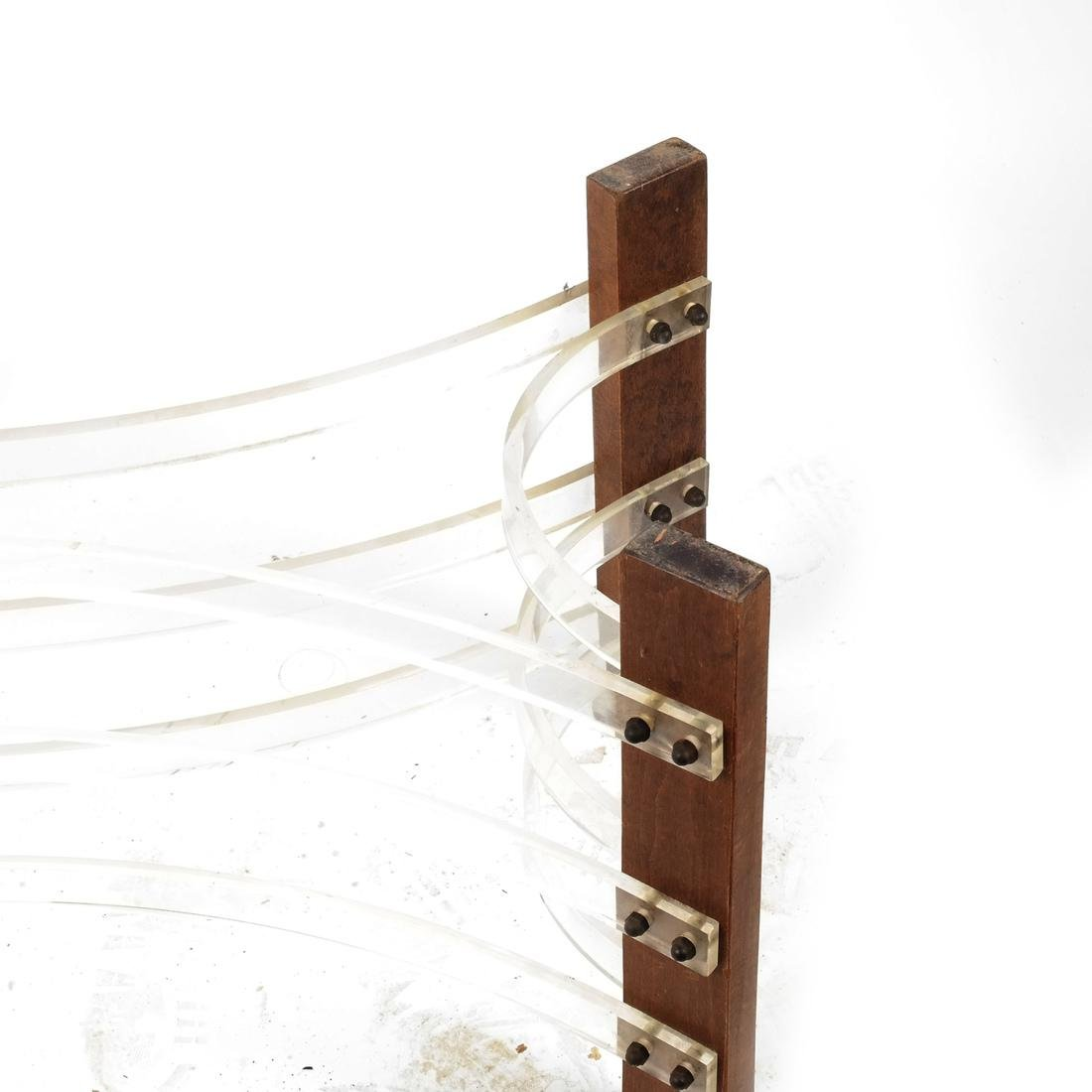 Abstract Sculpture: Wood and Plexiglas - 3